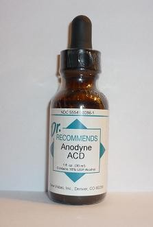 Anodyne ACD Homeopathic | (Natural Home Remedy for Pain from acid conditions; heartburn, acid reflux, arthritis)